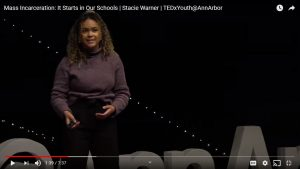 Mass Incarceration: It Starts in Our Schools | Stacie Warner | TEDxYouth@AnnArbor